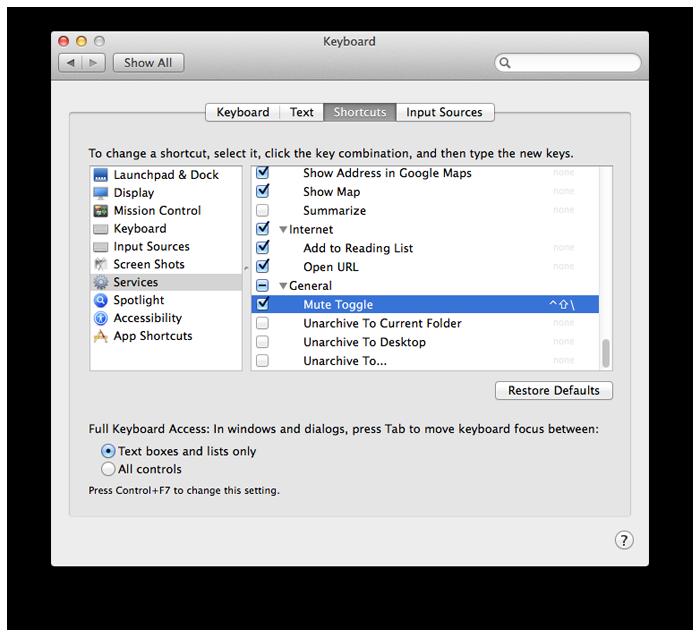 Creating a Mac Microphone Mute Keyboard Shortcut · Edd Mann